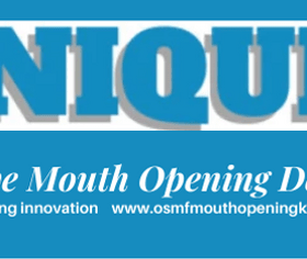 Exclusive UNIQUE Mouth Opening Device for osmf