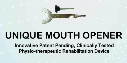UNIQUE Mouth Opening exercise device