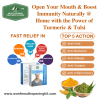 immunity booster and Open Your Mouth Naturally with the power of Turmeric and Tulsi During Lockdown