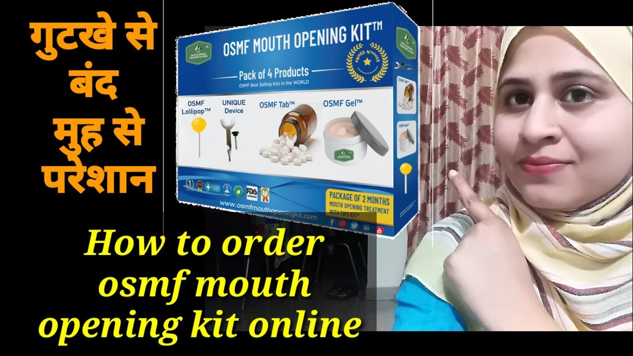 Oral Submucous Fibrosis Treatment Home Remedy, How to order online OSMF Mouth Opening Kit